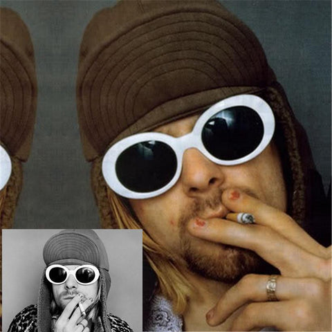 NIRVANA Kurt Cobain Sunglasses - East Gold