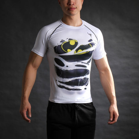 Avengers 3D Printed T-shirts - East Gold
