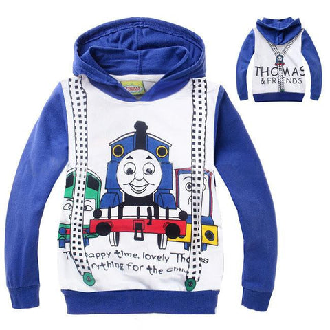 Thomas Tank Engine Train Hooded Sweatshirt - East Gold