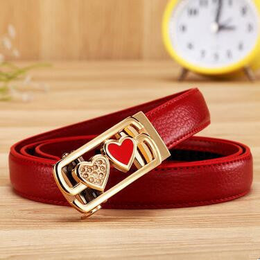 Classic Genuine Leather  Belt Straps high Quality   East Gold