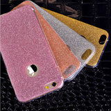 Glitter Bling Back Skin Cover for iPhone  6 6s 6Plus 6splus - East Gold