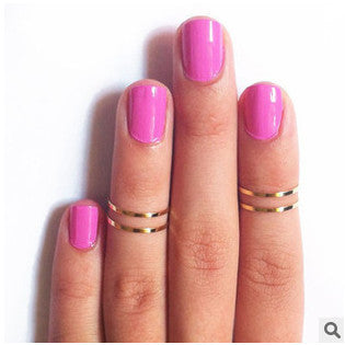 Alloy Ring Polished Brass Beautiful Rings - East Gold