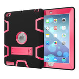 Apple iPad2 iPad3 iPad4 Kids Safe Armor Shockproof Heavy Duty Silicon+PC Stand Back Case Cover For ipad 2 3 4 Tablet PC - East Gold