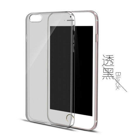 Ultra Thin Soft TPU Gel Original Transparent Case For iPhones - East Gold