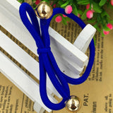 5Pcs/Bag Bowknot Gold Plated Beads Hair Holders - East Gold