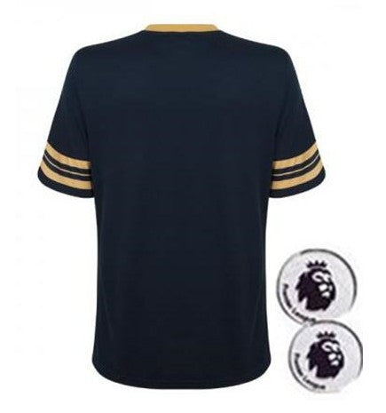 Free Patches Football Shirt - East Gold