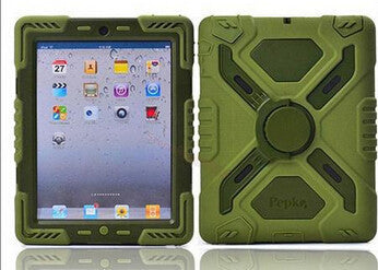Extreme Military Heavy Duty Waterproof Dust/Shock Proof with stand Hang cover Case For iPad 2 3 4 - East Gold