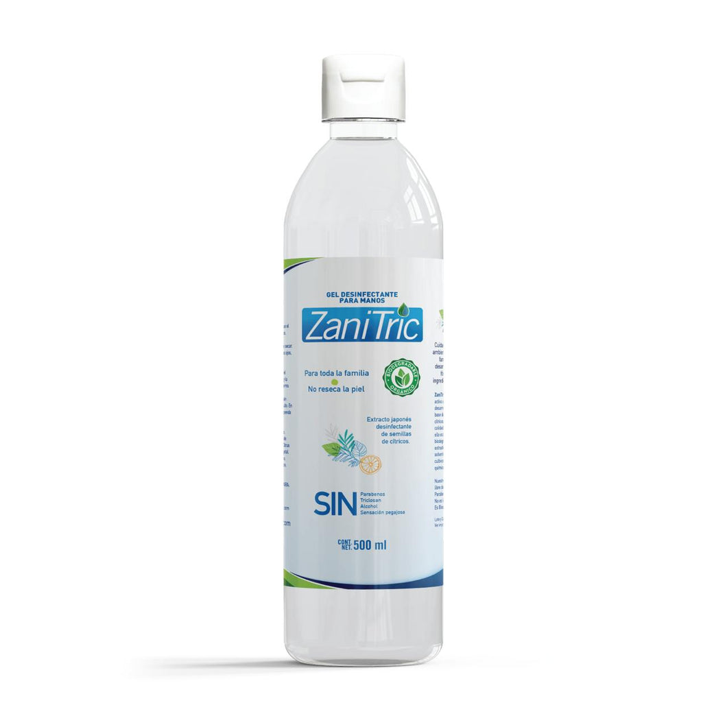 Gel Antibacterial Zanitric