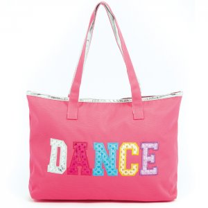 Multi Color Dance Tote- Hot Pink