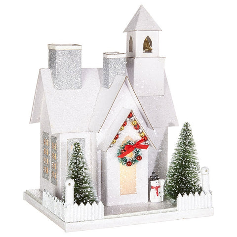 "9.5"" Christmas Church"