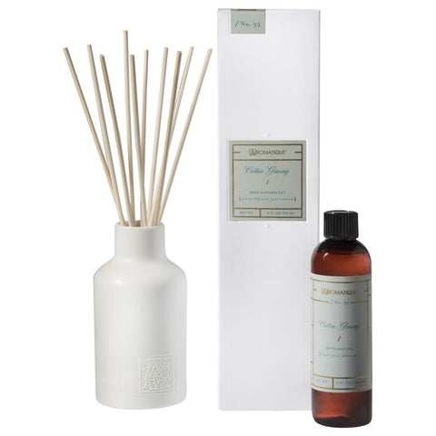 Cotton Ginseng Reed Diffuser Set