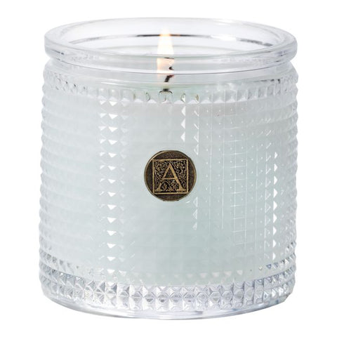 Aromatique Cotton Ginseng Textured Glass Candle
