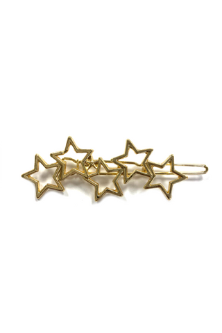 5 Star gold Hair Pin