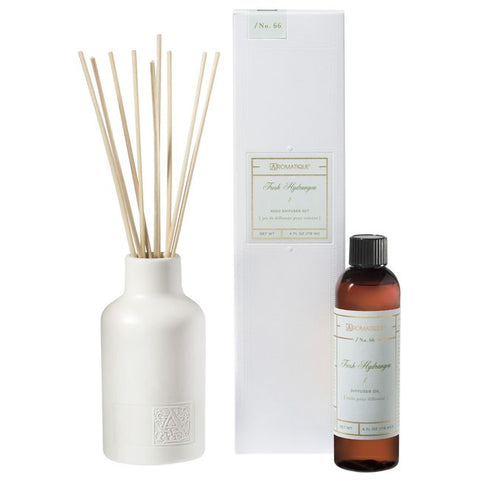 Hydrangea Reed Diffuser Set