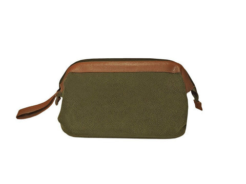 Traditional Dopp Kit- Millwood Green