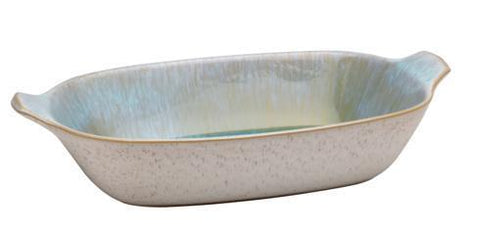 Casafina Ibiza Sea Large Rectangle Baker w/Handles