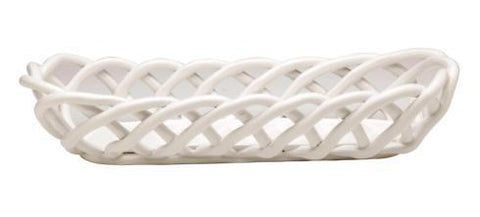 Baguette Basket White