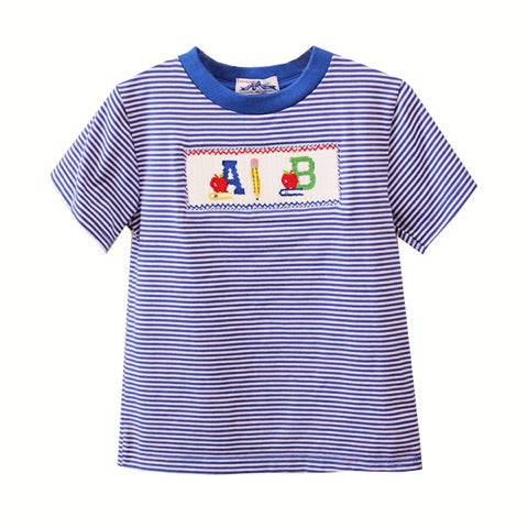 Back To School Smocked T-Shirt