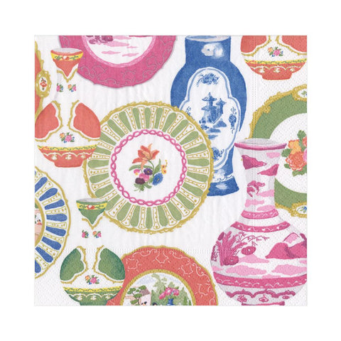 Caspari Meissen Cocktail Napkins