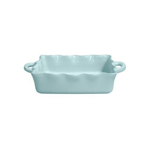 Cook And Host Medium Ruffle Baker Blue