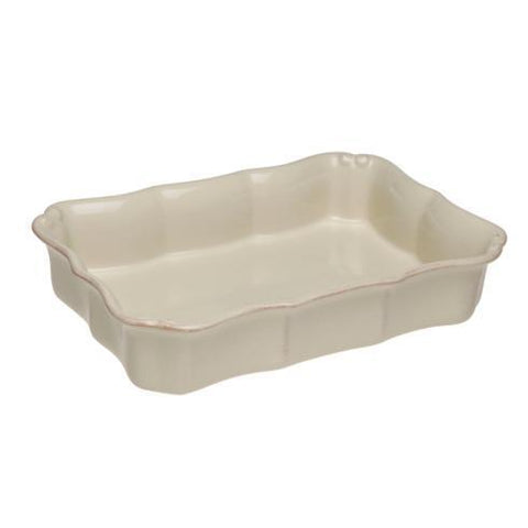 Casafina Md Rectangle Baker - Cream