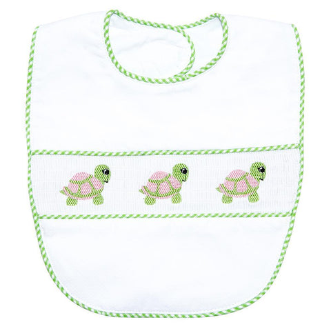 Turtle Smocked BIb