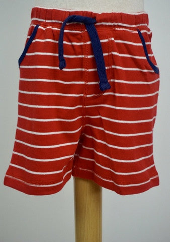 MudPie Pull On Shorts - Red