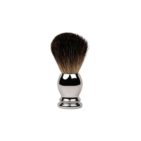 Chrome Handled Shave Brush