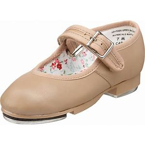 Mary Jane Tap Shoes- Caramel