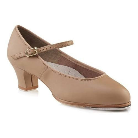 Heeled Tap Shoes- Caramel