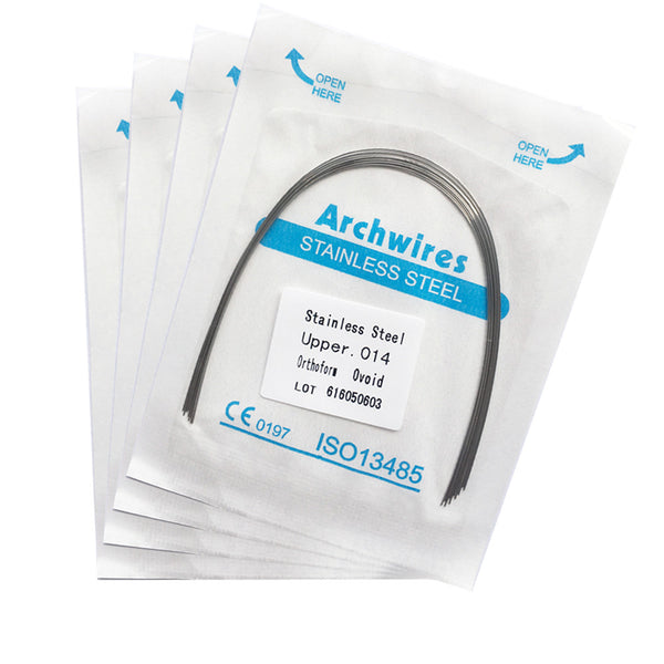 Stainless Steel Arch Wires (10/pack)