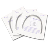 NiTi Super Elastic Orthodontic Arch Wires (10/pack)