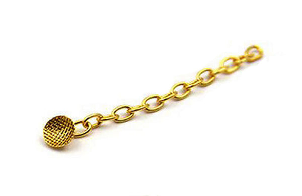 Orthodontic Traction Chain - Gold Plated - Round Base (10/Pack) $55.00