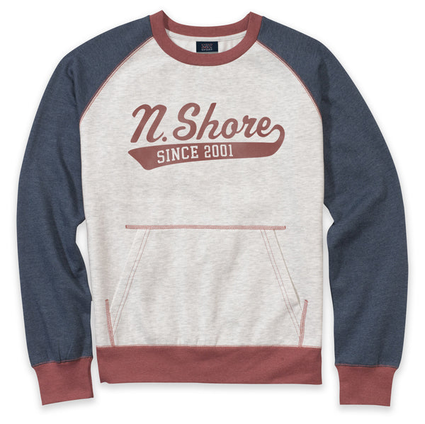 Heather Crewneck Sweatshirt