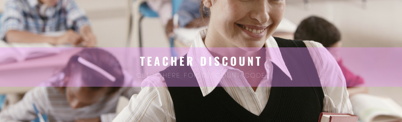 Blush & Whimsy Teacher Discount