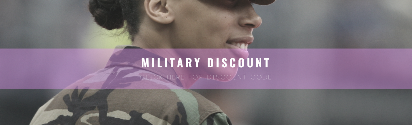 Blush & Whimsy Military Discount