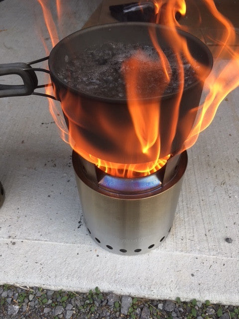 The Secret to Cleaning Black Soot off  Camping Cookware