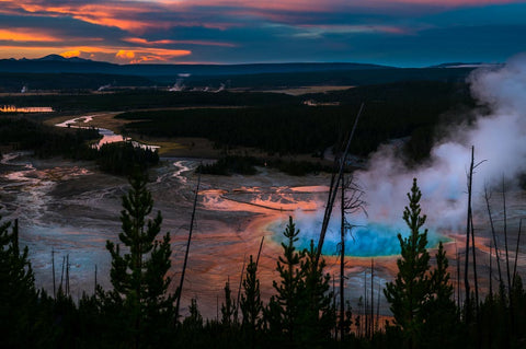Yellowstone National Park, Wyoming-Montana-Idaho