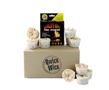 24 Pack Of Qwick Wick fire starter