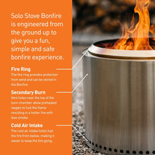 Solo Bonfire Stove * Ships with a FREE box of 50 Qwick Wick Fire Starters*