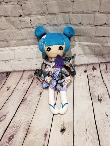 Beautiful Geisha Plush Toy
