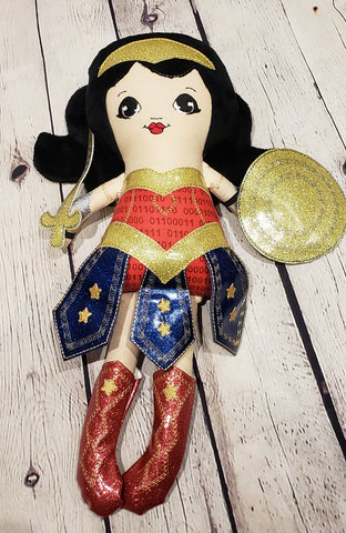 Wonder Woman Plush Toy