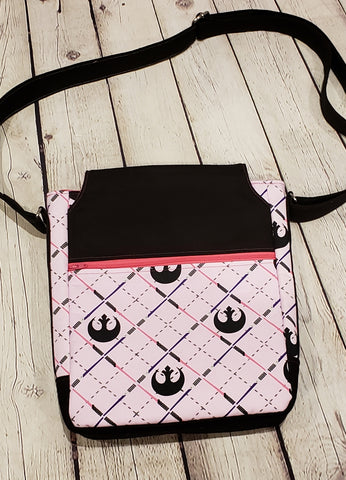 Pink Star Wars lightsaber bag