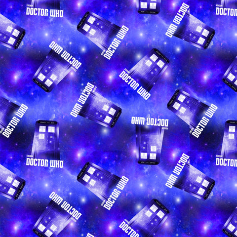 BBC Doctor Who Tardis Fleece
