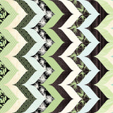 Aqua Green Zen Stripe Fabric