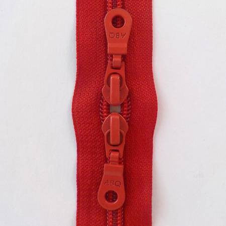 "Barberry Double Pull 30"" Zipper"