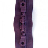 "Wineberry Double Pull 30"" Zipper"