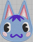 Animal Crossing Rosie Digital Embroidery Design File