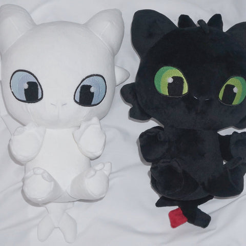 Toothless and Lightfury Plush Toy