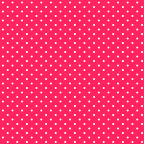 Cherry Red Dot Fabric